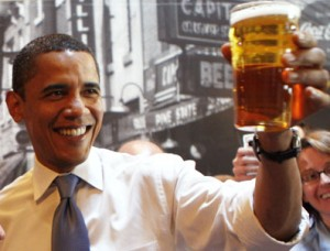 President Obama Enjoys Homebrewing as Well